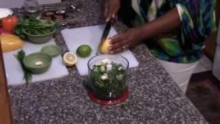 Garden Herb Lamb Chops