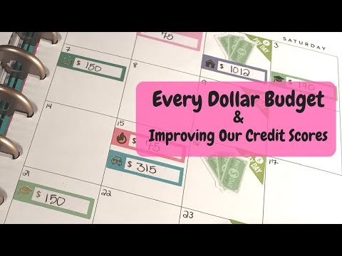 Improving My Credit Score | House Update | Every Dollar Budget