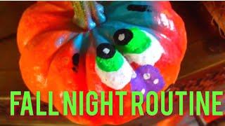 Fall Night Routine | 2014