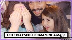 A REVANCHE: meu marido (e filha!) ESCOLHERAM MINHA MAKE | Lu Ferreira | Chata de Galocha