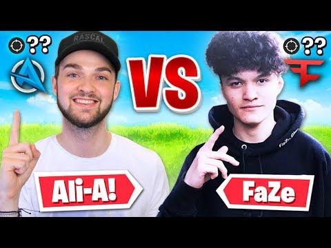 Ali-A vs FaZe Clan! (MOST KILLS WIN $$$)