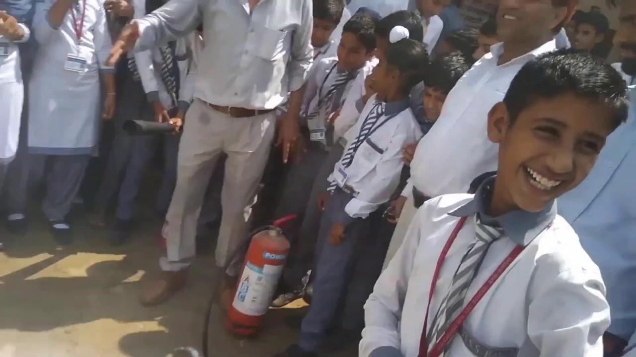 Fire Fighting Demonstration | Kamaraj College  |Fire Figher Demonstration