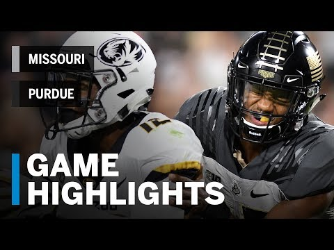 Highlights: Missouri Tigers vs. Purdue Boilermakers | Big Ten Football