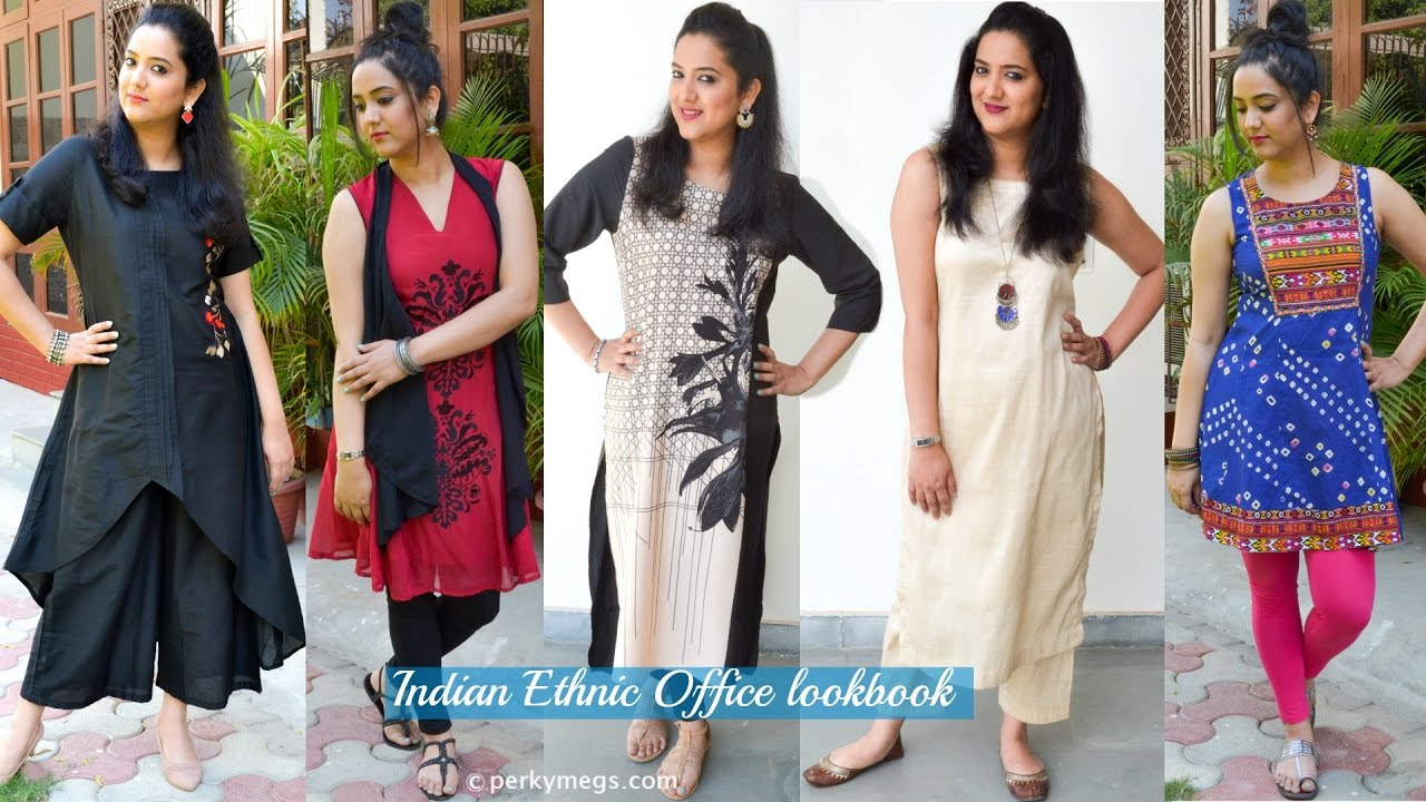 ad930a09e Indian Ethnic Office wear Lookbook