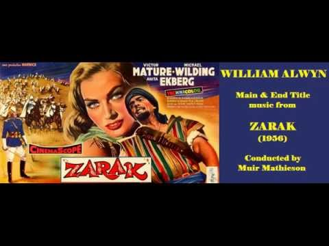 William Alwyn: music from Zarak (1956)