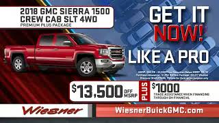Wiesner Buick GMC - GET IT NOW Commerical