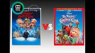 ▶ Comparison of The Muppet Christmas Carol 4K Disney+ vs Blu-Ray Version