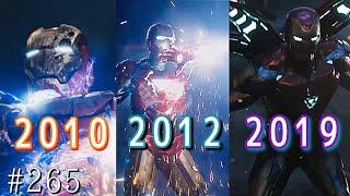 アイアンマンは洞窟でガラクタからスーツをつくりこれまで85着のパワードスーツを作りました。そのどれもが前回の戦いや映画から改良がされて...