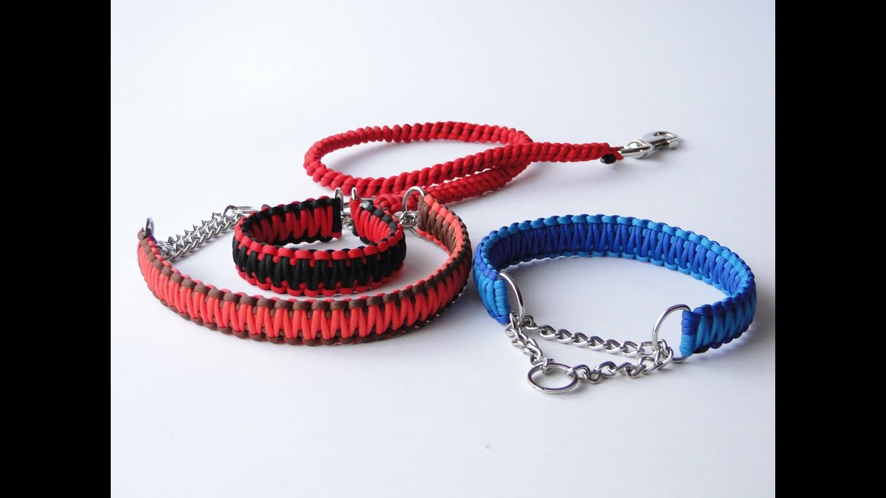 Make Dog Collars Paracord