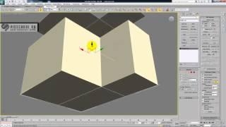 Интерьер в 3ds max - курс Патефонная комната - урок 1 - единицы, стены, Shell, Symmetry