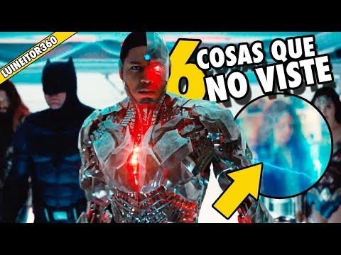 Justice League Comic-Con Trailer -  Easter eggs, Secretos y cosas que NO viste! (Breakdown)