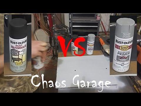 Iron Armor Rust Reformer Rust Converting Paint Test Doovi