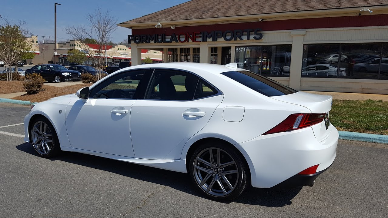 lexus is350 f sport for sale formula one imports charlotte youtube. Black Bedroom Furniture Sets. Home Design Ideas