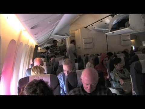 United Airlines 777 Economy Class Chicago to Beijing