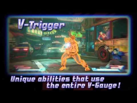 Street Fighter V׃  Battle System Trailer