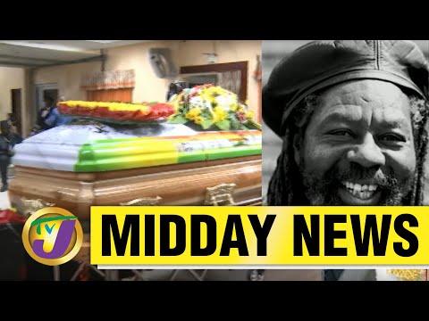 Reggae Artiste U Roy Laid to Rest | Jamaica's Covid Deaths Surpass 900 | TVJ Midday News