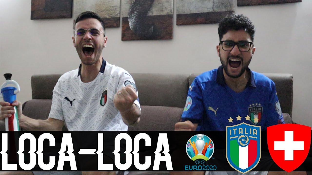 LOCA LOCA TELLI TELLI!!! ALTRE 3 PAPPINEE!! ITALIA-SVIZZERA 3-0 | LIVE REACTION EURO 2020