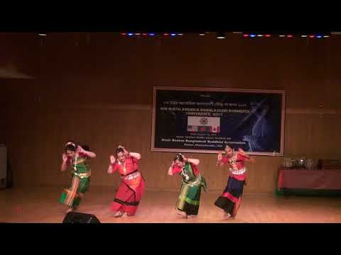 Rangamatir Rongey নৃত্য : রাঙামাটির রঙে চোখ জুড়ালো