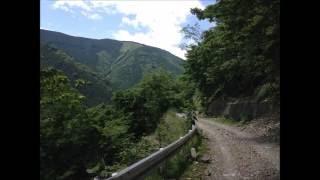 2016.6.2 桜峠~ユートリオ~石神峠~天子湖~ヘリポート~下部温泉~湯之奥猪之頭林道