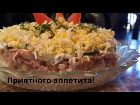 Салат Мимоза - классический рецепт с фото