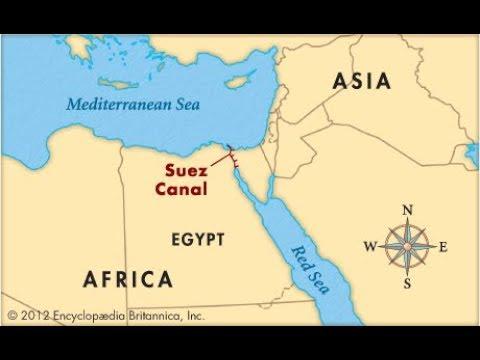 Kannaalka Suez | Dedaalkii Masaarida Iyo Daalkii Dabadii.