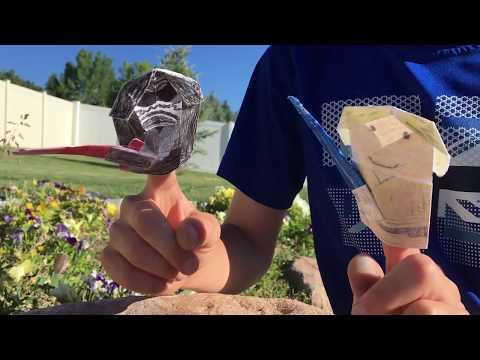 how to fold | Origami Yoda 2 | 360x480