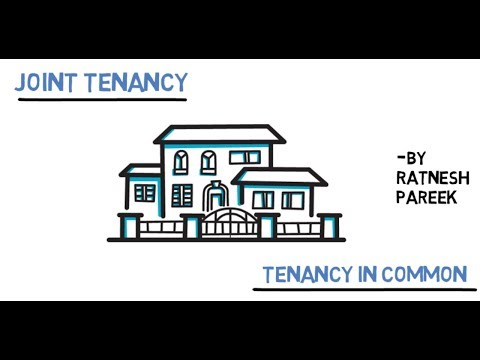 Joint Tenancy and Tenancy in Common- explained
