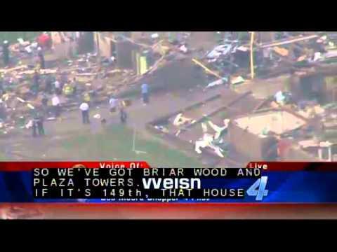 Tornado Damage Coverage, Moore Oklahoma May 20, 2013 - KFOR Coverage