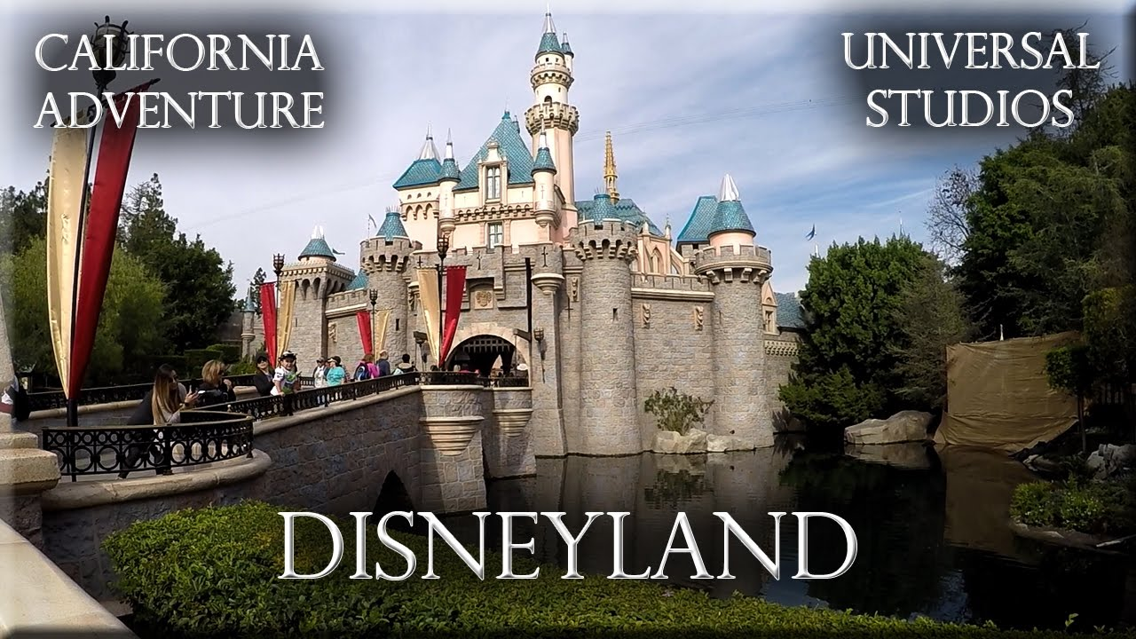 Disneyland California Adventure Universal Studio Harry Potter