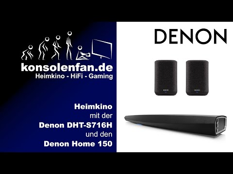 Test► Denon im Fokus - Kabelloses Heimkino mit Denon DHT S716H, Denon Home 150 und der HEOS-App