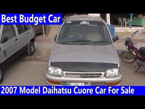 2007 Model Daihatsu Cuore Car For Sale Reasonable Price   Budget Car Review