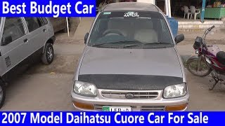 2007 Model Daihatsu Cuore Car For Sale Reasonable Price | Budget Car Review