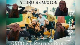 Cnco,Prince Royce LLEGASTE TU(Video Reaccion)