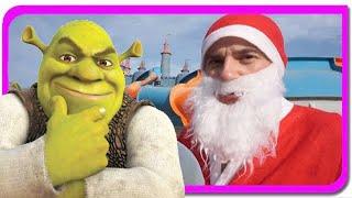 Peripetiile lui Mos Craciun in Imparatia lui Shrek  Anabella Show