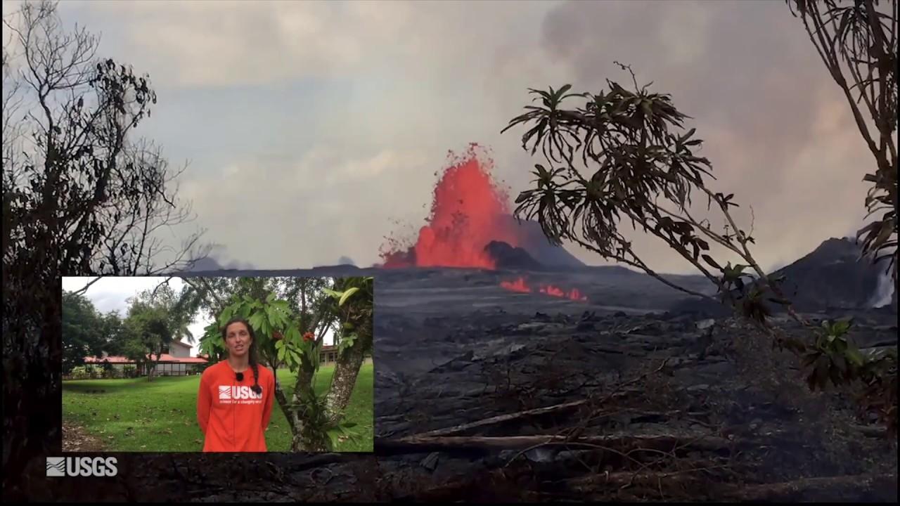 USGS Status Update of Kīlauea Volcano - May 28, 2018