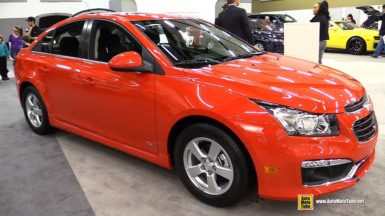 2015 chevrolet cruze 1lt rs exterior and interior walkaround