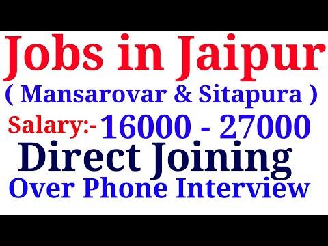 Private Jobs in Jaipur (Mansarovar & Sitapura)   Private Fresher Jobs Special Private Jobs India