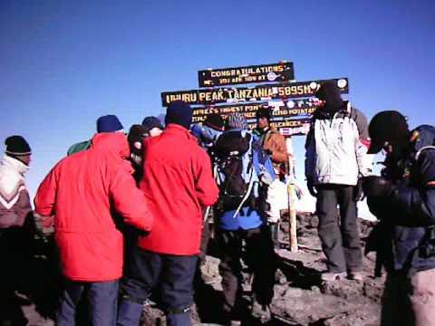 Darren Hunt Kilimanjaro 2005