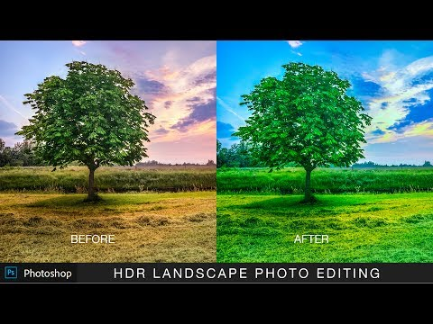 Landscape Photo Editing - Camera Raw Photoshop Tutorial - Post Processing  in 5 Minutes
