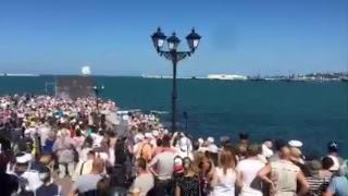 Парад ВМФ России 2017 в Севастополе видео трансляция онлайн