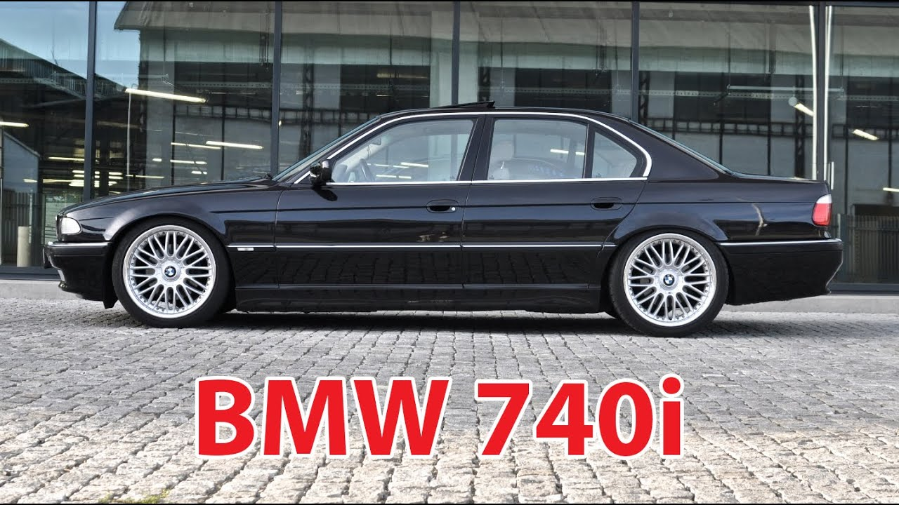 "Lowered BMW 740i E38 on 20""rims - YouTube"