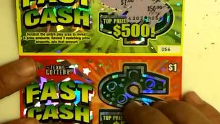 FAST CASH  TEXAS LOTTERY SCRATCH OFF EP. 155