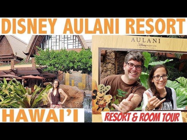 Disney Aulani Ocean View Room and Resort Tour!