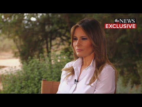 Melania Trump Says She's the Most Bullied Person in Interview