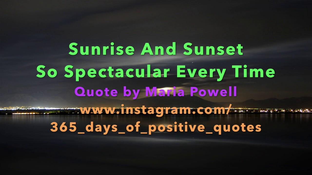 Positive inspirational videos