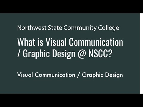 What to expect in Visual Communication Graphic Design at Northwest State Community College