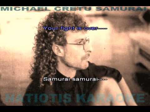 KARAOKE SAMURAI MICHAEL CRETU (FOR LAPTOP-PC)