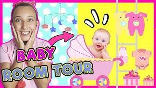 BABY ROOM TOUR 🍼 Mi NUEVA HABITACIÓN 😍 HABITACIÓN del BEBÉ GISELA y de NOA ! VLOGS DIARIOS