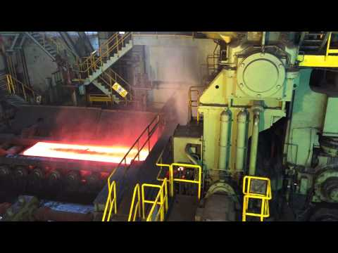 Bao Steel production line