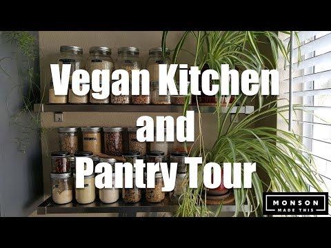 My Vegan Kitchen and Pantry Tour (Happy Veganuary!) How to veganize a kitchen. Tips on going Vegan